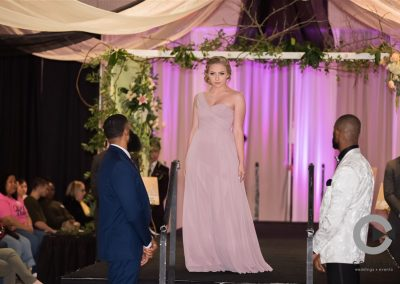 Fashion Show 2-2020 Bridesmaid in mauve
